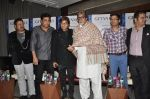 Amitabh Bachchan, Aadesh Shrivastav, Shaan at Global Sound of Peace press conference in Mumbai on 24th Jan 2013 (23).JPG