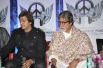Amitabh Bachchan, Aadesh Shrivastav at Global Sound of Peace press conference in Mumbai on 24th Jan 2013 (18).JPG