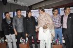 Amitabh Bachchan, Aadesh Shrivastav, Shaan at Global Sound of Peace press conference in Mumbai on 24th Jan 2013 (22).JPG