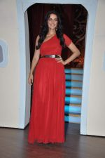 Neha Dhupia at the launch of Colors TV Serial Nautanki - The Comedy Theatre in Filmcity, Mumbai on 25th Jan 2013 (21).JPG