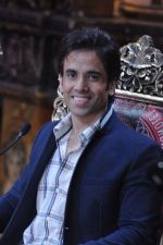 Tusshar Kapoor at the launch of Colors TV Serial Nautanki - The Comedy Theatre in Filmcity, Mumbai on 25th Jan 2013 (46).JPG