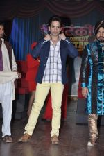 Tusshar Kapoor at the launch of Colors TV Serial Nautanki - The Comedy Theatre in Filmcity, Mumbai on 25th Jan 2013 (49).JPG