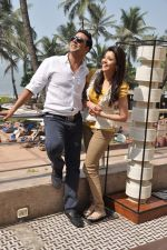 Akshay Kumar and Kajal Aggarwal at Special 26 film promotions in Mumbai on 26th Jan 2013 (25).JPG