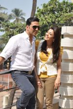 Akshay Kumar and Kajal Aggarwal at Special 26 film promotions in Mumbai on 26th Jan 2013 (32).JPG