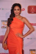 Jiah Khan at Stardust Awards 2013 red carpet in Mumbai on 26th jan 2013 (518).JPG