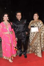 Govinda with wife and Narmada Ahuja at Udita Goswami weds Mohit Suri in Isckon, Mumbai on 29th Jan 2013 (277).JPG