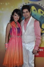 Karan Mehra, Nisha Rawal on the sets of Nach Baliye 5 in Filmistan, Mumbai on 29th Jan 2013 (69).JPG