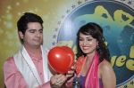 Karan Mehra, Nisha Rawal on the sets of Nach Baliye 5 in Filmistan, Mumbai on 29th Jan 2013 (70).JPG