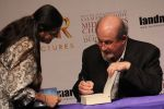 Salman Rushdie at Midnight Childrens Press Conference in NCPA, Mumbai on 29th Jan 2013 (3).jpg