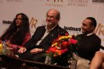 Salman Rushdie, Deepa Mehta, Rahul Bose at Midnight Childrens Press Conference in NCPA, Mumbai on 29th Jan 2013 (34).jpg