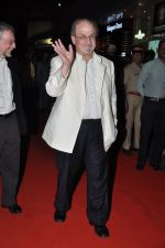 Salman Rushdie at the Premiere of Midnight_s Children in PVR, Pheonix, Mumbai on 31st Jan 2013 (60).JPG