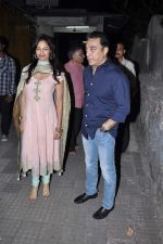 Kamal Hassan, Pooja Kumar at Vishwaroop screening in Ketnav, Mumbai on 1st Jan 2013 (46).JPG