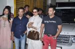 Kamal Hassan, Pooja Kumar, Salman Khan, Rekha at Vishwaroop screening in Ketnav, Mumbai on 1st Jan 2013 (14).JPG