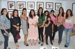 Shilpa Shetty, Tina Ambani, Geeta Basra, Pooja Bedi, Farh Khan, Juhi Babbar at Bhavna Jasra_s First impression gallery launch in  Kokilaben Ambani Hospital, Mumbai on 1st Jan 2013 (61).JPG