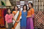 Mahima Bansal, Shaina NC, Shruti Sancheti and Iris at Hue for Shruit Sancheti in Inox, Mumbai on 2nd Feb 2013.jpg