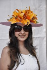 Amy Billimoria at McDowell Signature Premier Indian Derby 2013 day 1 in Mumbai on 3rd Feb 2013 (13).JPG