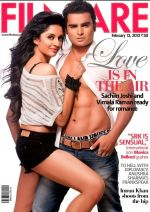 Sachiin Joshi and Vimala Raman in Feb Filmfare.jpg