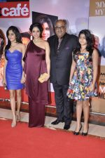 Sridevi, Jhanvi Kapoor, Boney Kapoor, Khushi Kapoor at Hindustan Times Mumbai_s Most Stylish 2013 awards in Mumbai on 7th Feb 2013 (199).JPG
