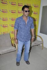 Ajay Devgan at radio mirchi in Parel, Mumbai on 8th Feb 2013 (1).JPG