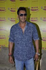 Ajay Devgan at radio mirchi in Parel, Mumbai on 8th Feb 2013 (9).JPG