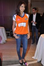 Genelia D Souza at Ritesh Deshmukh introduces his CCL team in Trident, Mumbai on 8th Feb 2013 (37).JPG