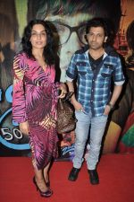 Meera, Rajan Verma at the music launch of film Zindagi 50 50 in Andheri, Mumbai on 8th Feb 2013 (45).JPG