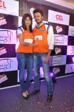 Ritesh Deshmukh, Genelia D Souza introduces his CCL team in Trident, Mumbai on 8th Feb 2013 (29).JPG