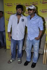 Wajid Ali, Sajid Ali   at radio mirchi in Parel, Mumbai on 8th Feb 2013 (13).JPG