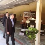 Mr Singhania and Mr Todt during a visit to vintage car collection by Prince Punjawala of Bilkha.JPG