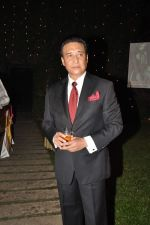 Danny Denzongpa at Anjan Shrivastav son_s wedding reception in Mumbai on 10th Feb 2013 (60).JPG