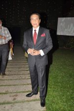 Danny Denzongpa at Anjan Shrivastav son_s wedding reception in Mumbai on 10th Feb 2013 (61).JPG