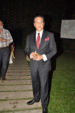 Danny Denzongpa at Anjan Shrivastav son_s wedding reception in Mumbai on 10th Feb 2013 (62).JPG