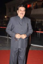 Raza Murad at Anjan Shrivastav son_s wedding reception in Mumbai on 10th Feb 2013 (28).JPG