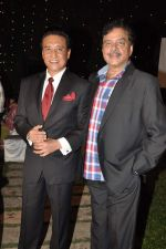 Shatrughan Sinha, Danny Denzongpa at Anjan Shrivastav son_s wedding reception in Mumbai on 10th Feb 2013 (61).JPG
