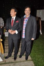 Shatrughan Sinha, Danny Denzongpa at Anjan Shrivastav son_s wedding reception in Mumbai on 10th Feb 2013 (62).JPG