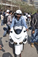at safety drive rally by 600 bikers in Bandra, Mumbai on 10th Feb 2013 (6).JPG