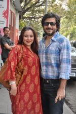 Goldie Behl, Shrishti Behl Arya at I Me Aur Main press conference in Escobar, Mumbai on 11th Feb 2013 (3).JPG