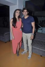 Hussain Kuwajerwala, Tina Kuwajerwala at Surveen Chawla hosts screening for film Singh VS Kaur in Sunny Super Sound, Mumbai on 11th Feb 2013 (37).JPG