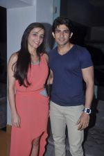 Hussain Kuwajerwala, Tina Kuwajerwala at Surveen Chawla hosts screening for film Singh VS Kaur in Sunny Super Sound, Mumbai on 11th Feb 2013 (39).JPG