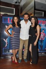 John Abraham, Chitrangada Singh, Prachi Desai at I Me Aur Main press conference in Escobar, Mumbai on 11th Feb 2013 (38).JPG