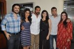 John Abraham, Chitrangada Singh, Prachi Desai, Goldie Behl, Shrishti Behl Arya at I Me Aur Main press conference in Escobar, Mumbai on 11th Feb 2013 (21).JPG
