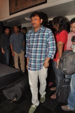 Ram Gopal Varma at the Audio release of The Attacks Of 26-11 in Leopold, Mumbai on 11th Feb 2013 (16).JPG