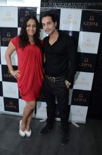 ashita dhawan with shailesh gubani at Gehna Valentine evening hosted by Munisha Khatwani in Mumbai on 11th Feb 2013.JPG