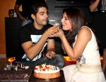 Deepshikha gave a surprise  birthday party to  kaishav Arora at home in Malad on 12th Feb 2013 (8).jpg