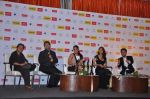 Sujoy Ghosh, Richa Chadda, Ileana Dcruz, Ayushmann Khurrana at the Launch of Filmfare special award issue in Novotel, Mumbai on 12th Feb 2013 (105).JPG