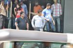 Salman Khan snapped outside Being Human store in Santacruz, Mumbai on 13th Feb 2013 (30).JPG