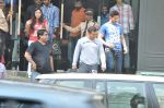 Salman Khan snapped outside Being Human store in Santacruz, Mumbai on 13th Feb 2013 (32).JPG