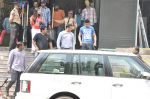 Salman Khan snapped outside Being Human store in Santacruz, Mumbai on 13th Feb 2013 (33).JPG