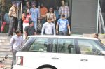 Salman Khan snapped outside Being Human store in Santacruz, Mumbai on 13th Feb 2013 (34).JPG