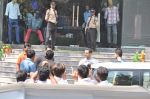 Salman Khan snapped outside Being Human store with Sunil Shetty in Santacruz, Mumbai on 13th Feb 2013 (22).JPG
